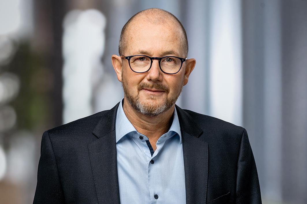 Porträt: Herr Peter Althaus, Geschäftsführer von ENEXIO Water Technologies.