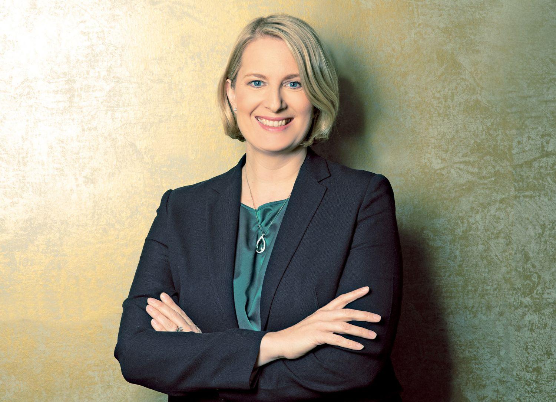 Porträt: Julia Braune, Geschäftsführerin bei German Water Partnership e.V.
